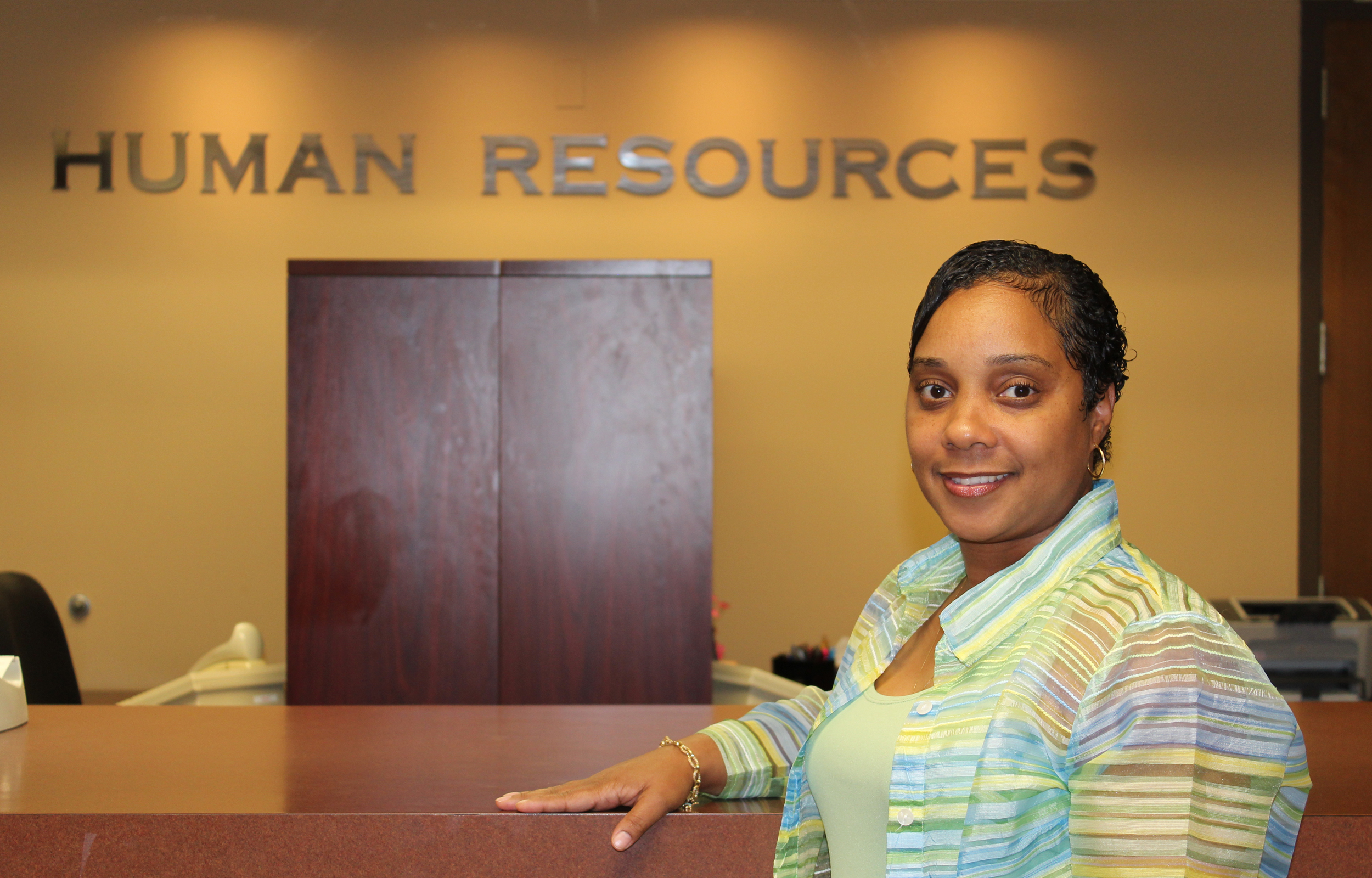 Sherrell McNamara, UMBC's Human Resources and Information Systems